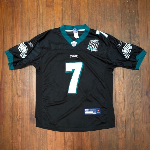 a3c9ac99f61 Reebok Shirts | On Field Mike Vick Black Ops Jersey | Poshmark